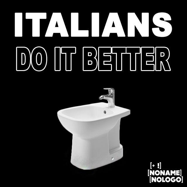 ITALIANS DO IT BETTER...a partire dal bidet!!! #nonamenologo #marketing #webmarketing #neuromarketing #comunicazione #fano #pesaro #urbino #senigallia