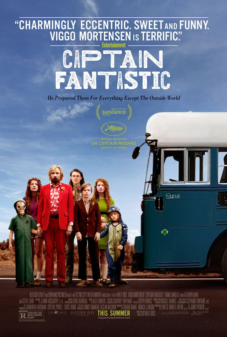 Captain Fantastic - Movie Posters I LOVED this film! It's genius film making making important, thought filled points without shoving anything down your throat.
