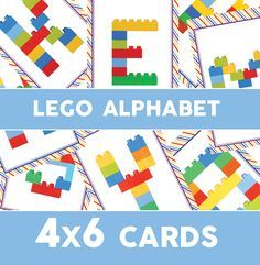 The long awaited and requested Lego Duplo Alphabet edition. A while ago I posted about theLego Dulpo number cards.Well today I am back to share with you a full set of FREE printable alphabet cards! This won't be a long post, I will get right to the point!  (Click the image above to ...