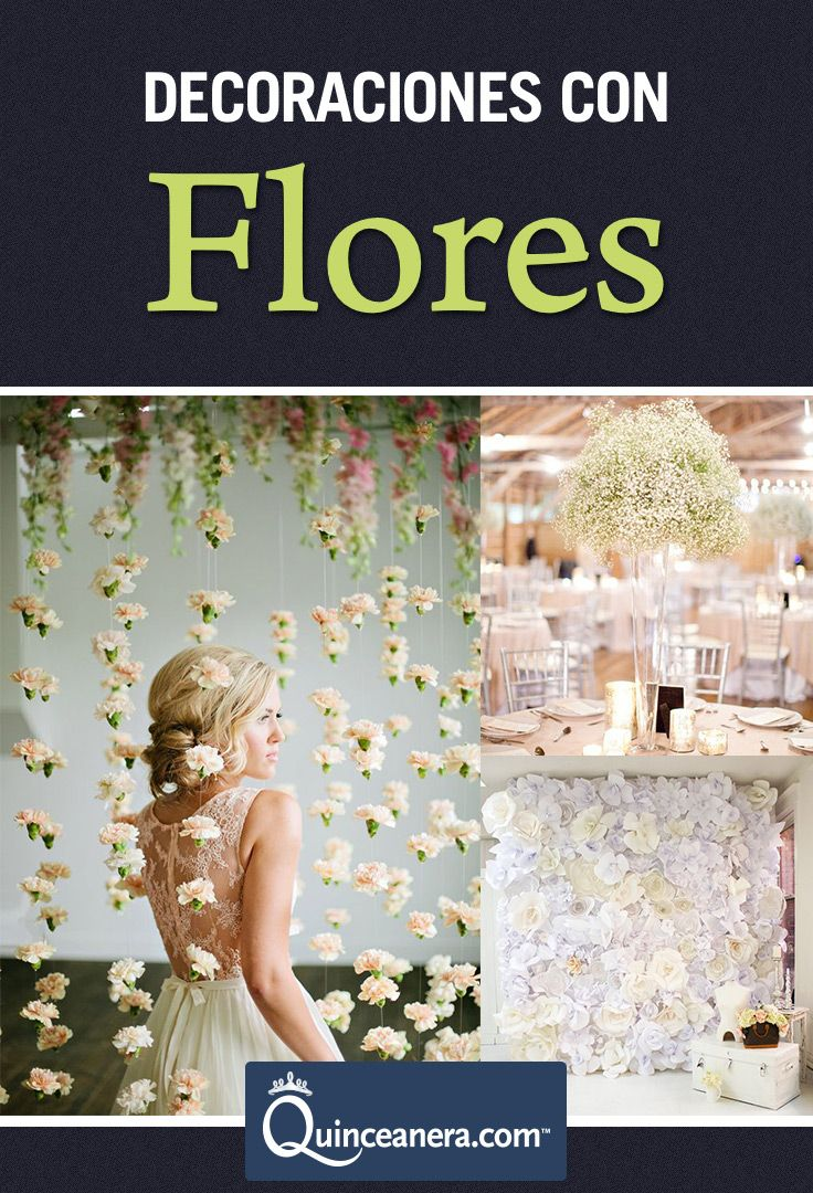 157 best images about quinceanera decorations on pinterest for Decoracion con plantas