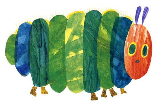 eric-carle the very hungry caterpillar