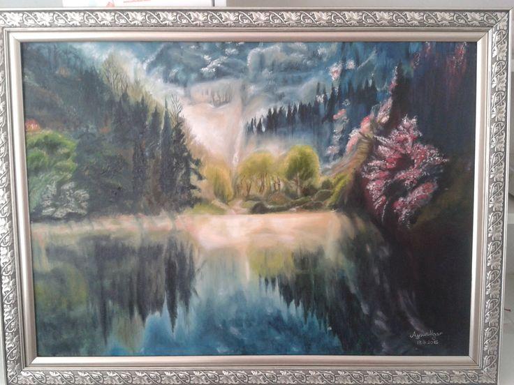 50 70 yaglı boya tablom