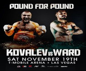 WATCH SERGEY KOVALEV VS ANDRE WARD LIVE BOXING UPDATE