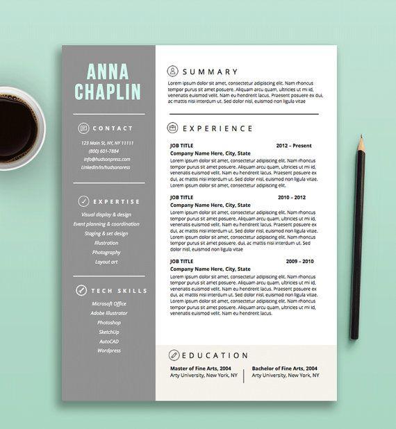resume template cv template cover letter letterhead stationery microsoft word fully. Resume Example. Resume CV Cover Letter