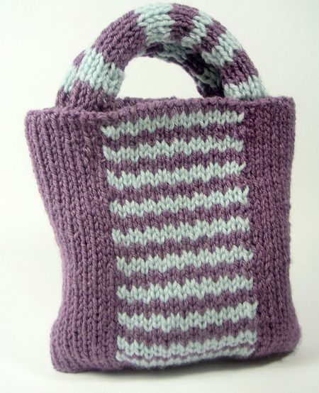 Knitting Pattern For A Peg Bag : 1000+ images about Loom Knit Bags Baskets Totes on Pinterest