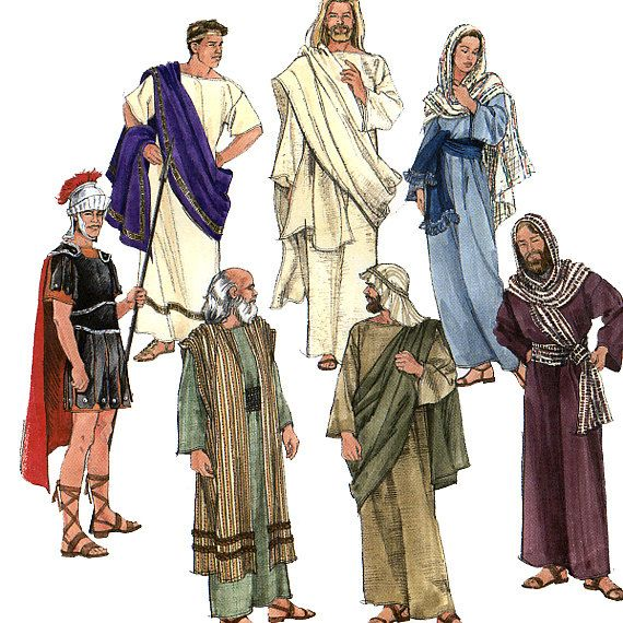 Bible costumes   Simplicity 8108 Adult Passion Play Biblical Costumes Sewing Pattern ...