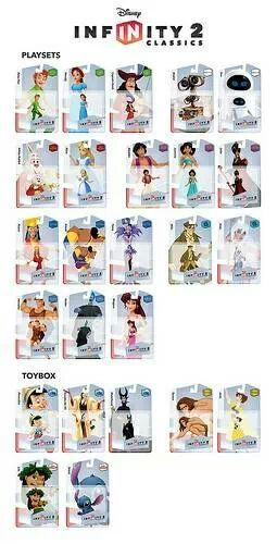 disney infinity figures  When I get 2.0 I really want these