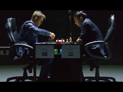 Anand x Carlsen - Partida 1 - Campeonato Mundial de Xadrez de 2014 [ Xad...
