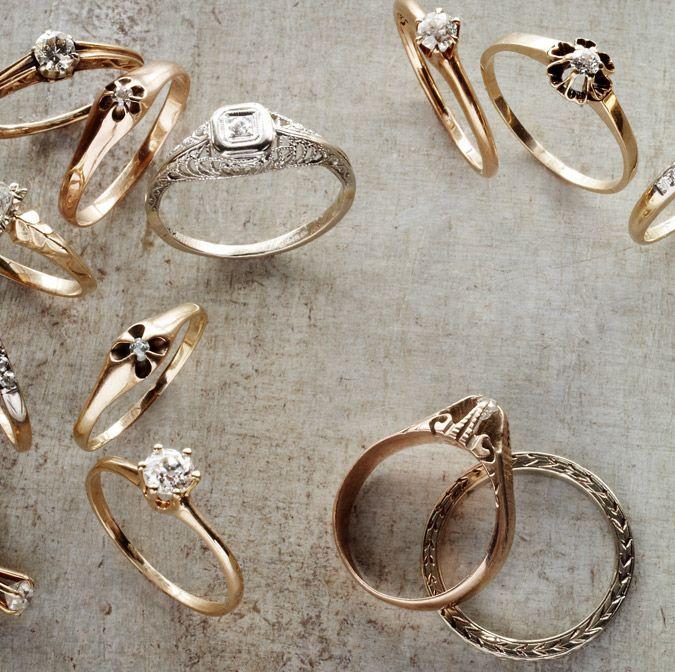 Stunning Vintage Rings From BHLDN Weddings