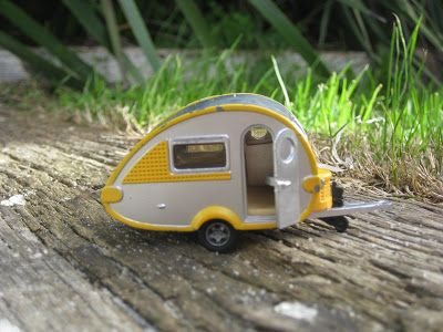 My regular readers may have read my vintage caravan posting a while back. This morning at multiple birth playgroup I saw one of the little b...