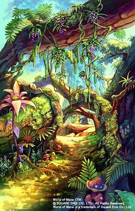 Dawn of Mana - Jungle Path