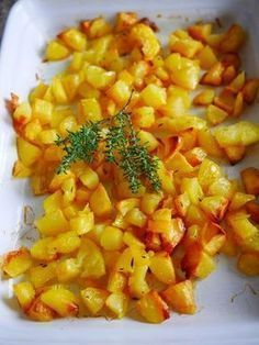 Pour réussir les pommes de terre sautées, faites les au four. Des pommes de terres croquantes et dorées à l'extérieur et moelleuses à l'intérieur.