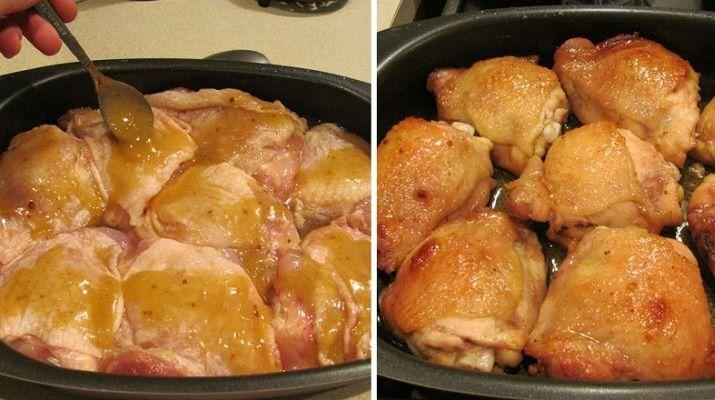 Такой вкусной курица еще не была! Бедрышки, указанные в рецепте, можно заменить на голени или филе.