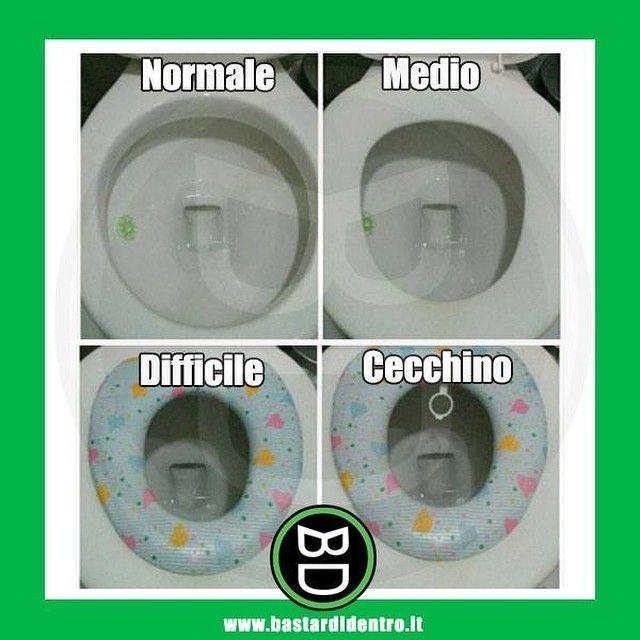 Solo per veri #uomini #bastardidentro #bagno www.bastardidentro.it
