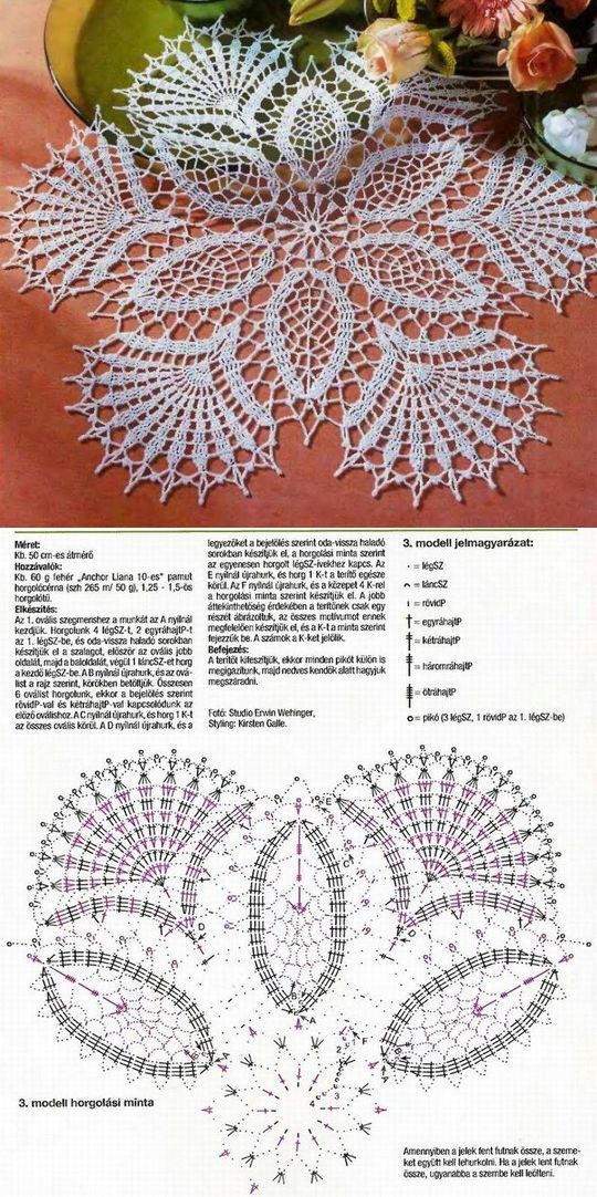Lace Crochet Doily... ♥ Deniz ♥