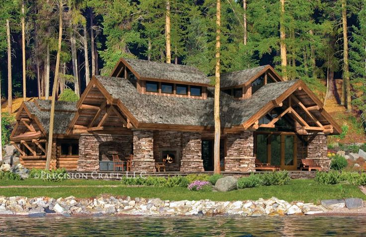 Washington Log Homes Ellensburg Timber Frame Homes