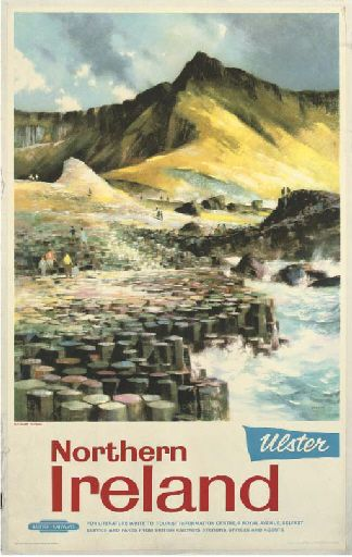 Northern Ireland - Ulster - The Giant's Causeway - British Railways - (Greene) -