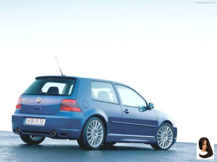 Volkswagen Golf IV R32 exotische Auto Tapeten 002 von 39 Diesel # VWR32Interior