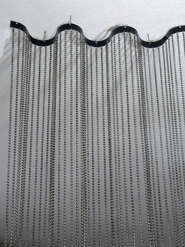 poles brass silver curtains steel antique metal chrome curtain