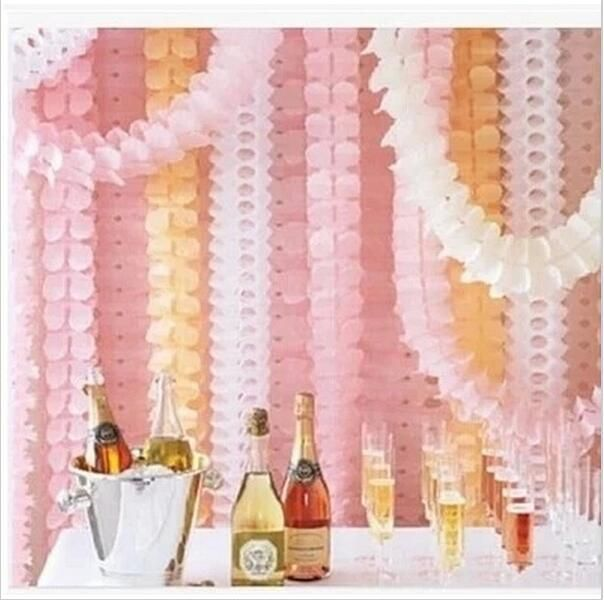 [Visit to Buy] 3.6m Four Leaf Clover Paper Garlands Wedding Party  Home Decoration Beautiful Bunting Paper Garland Shower Room Door Decoration #Advertisement
