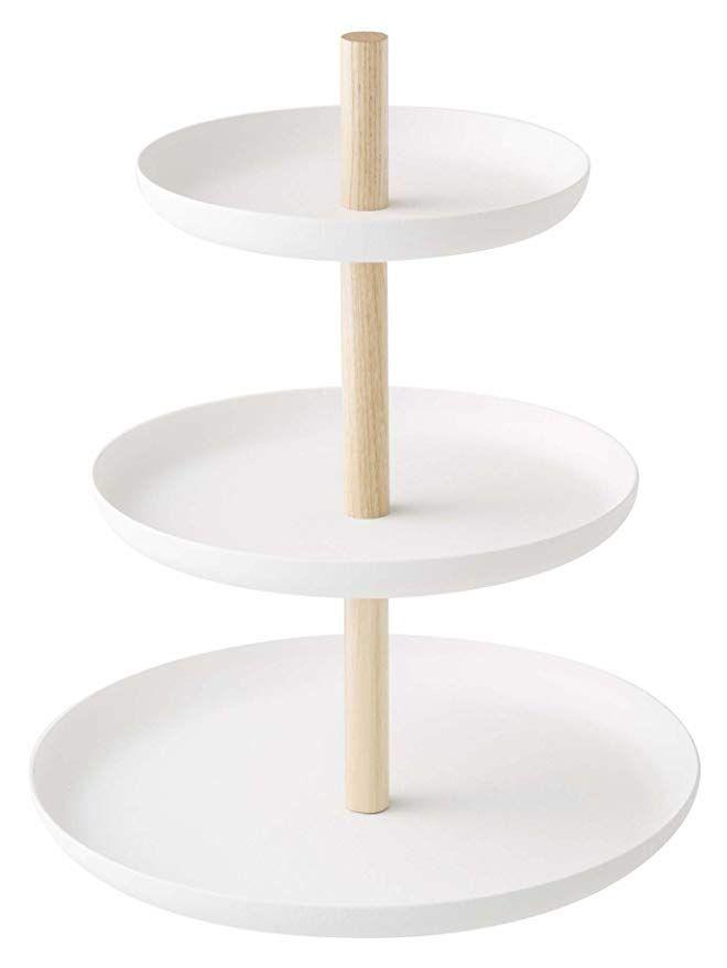 Yamazaki Home Tosca 3 Tier Cake Stand Tiered Dessert Stand Tiered Cake Stand Three Tier Cake Stand