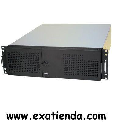 """Ya disponible Rack 19"""" 3u aic rmc3s2 0   (por sólo 170.89 € IVA incluído):   -Dimensiones (mm): 482.6 x 533.4 x 133.35 -Refrigeración: 1 ventilador de 80x25 mm (opcional 2 ventiladores de 60x25 mm)  -Fuente de alimentación: No incluida. Admite fuentes ATX PS/2 estándar con ventilador de 8cm. No es posible instalar fuentes con ventilador de 12cm. -Expansión: 7 slots PCI de altura completa -Pulsadores de encendido y reset, 2 puertos USB frontales -Leds de encendido y de"""