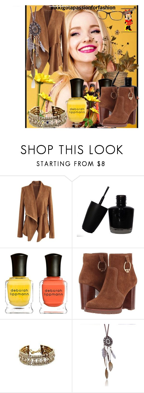 nikkigotapassionforfashion#9 by sabahetasaric on Polyvore featuring Chicwish, Tory Burch and Deborah Lippmann