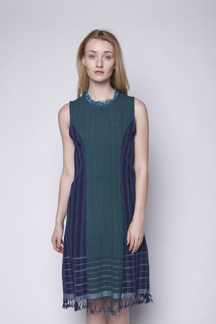 Lekat Mini Dress Tenun