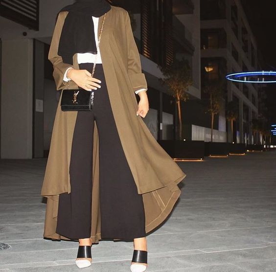 How to style your Abaya cardigan for Ramadan http://www.justtrendygirls.com/how-to-style-your-abaya-cardigan-for-ramadan/