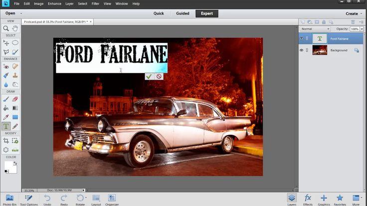 Photoshop Elements: Learning Text Basics