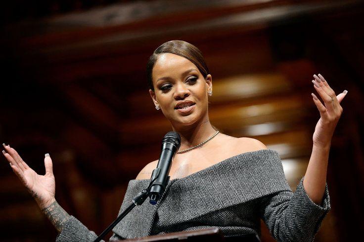 Rihanna Honored as Humanitarian of the Year at Harvard University