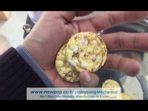 Test of Corn 70% + Quinoa, Sorghum, Millet each 10% by SYP4506 Rice cake...