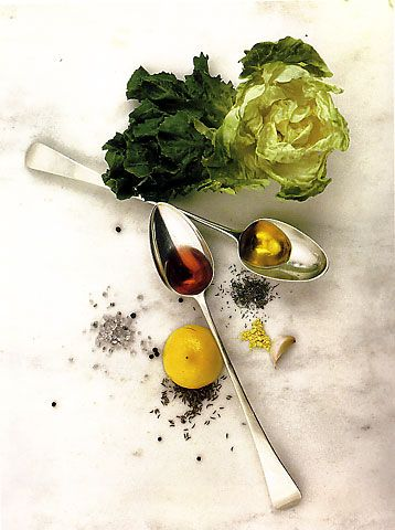 Dutchbaby: Irving Penn (1917-2009), Portraits and Still Lifes.    Salad Ingredients. New York, 1947 by Irving Penn.    Still looks modern today.