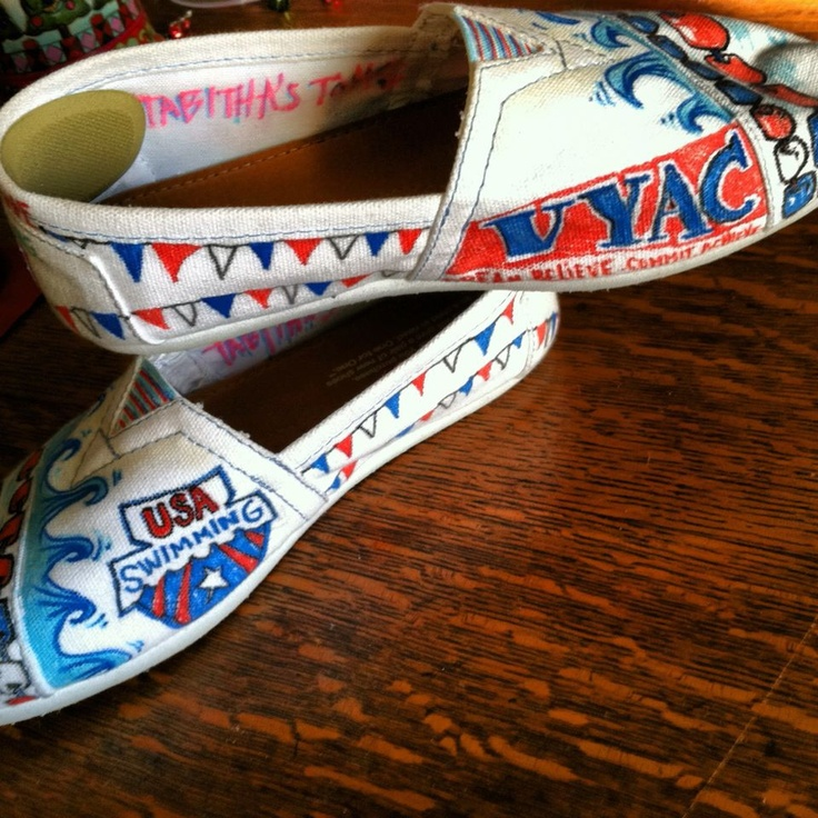 Swim Team USA Toms