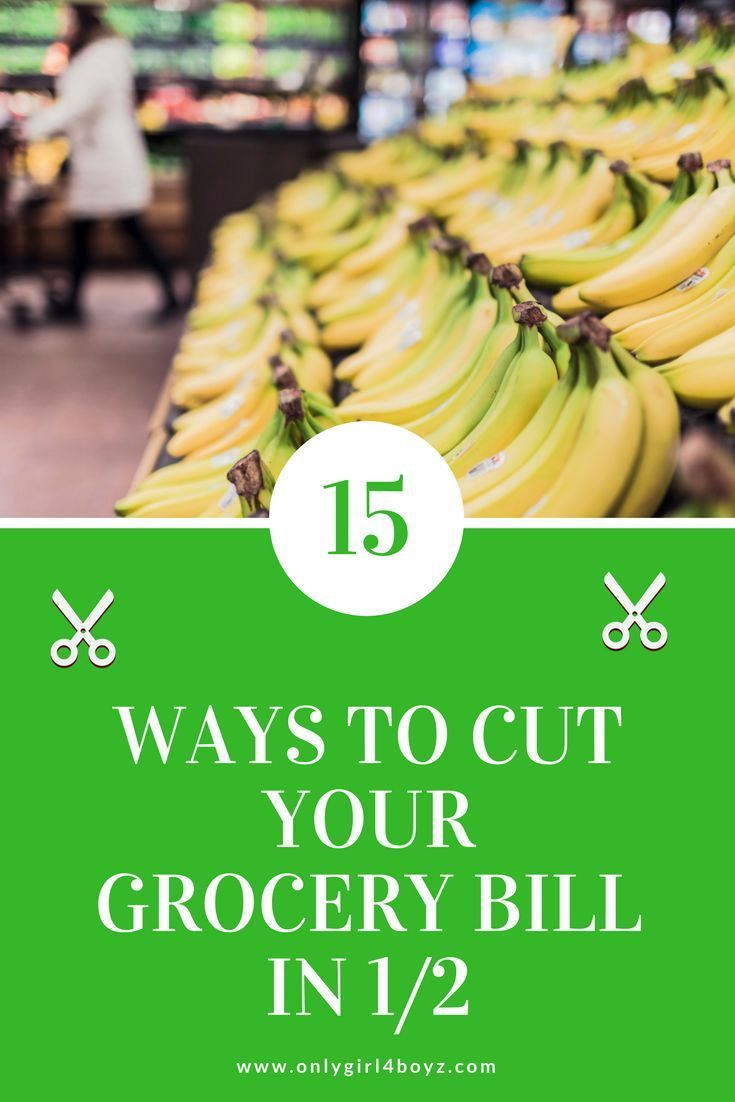 This article shares how to save on your grocery bill if you are on a budget. This is great for families that do not have time to cut coupons, but need to save money. For more money saving tips, check out: www.onlygirl4boyz.com #savemoney #frugal #cutbills