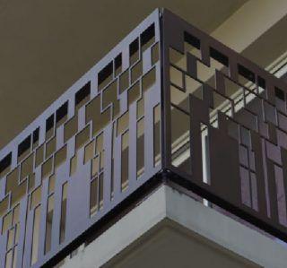 balcon terasa constructie balustrada metalica