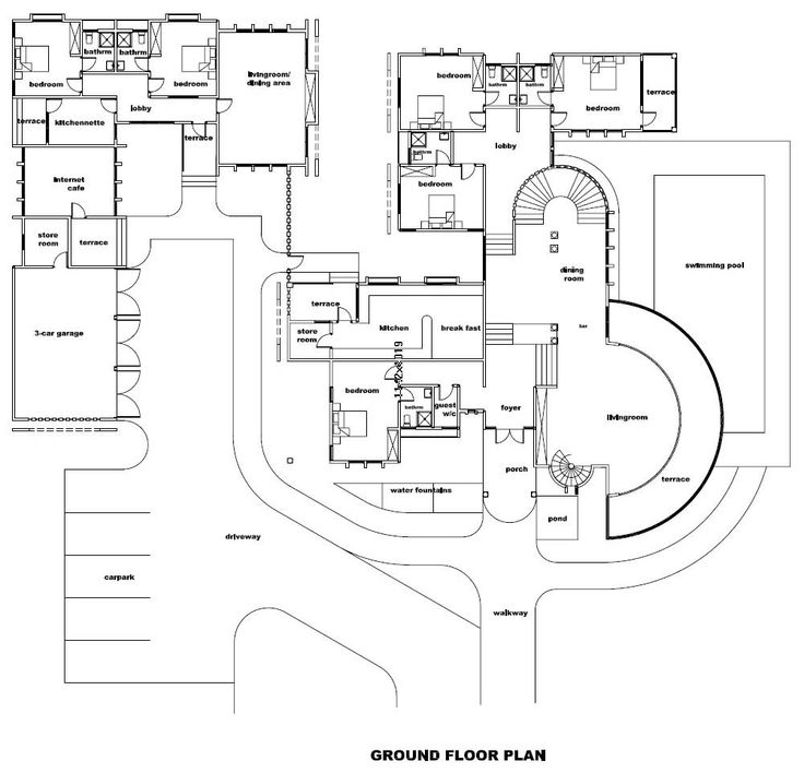 10 Images About Castle Floor Plans On Pinterest Modern