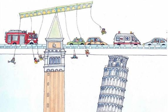 """La Biblioteca Nazionale di Napoli presenta Luca Vannozzi con """"Sformaurbis"""", mostra di tavole illustrate inedite"""