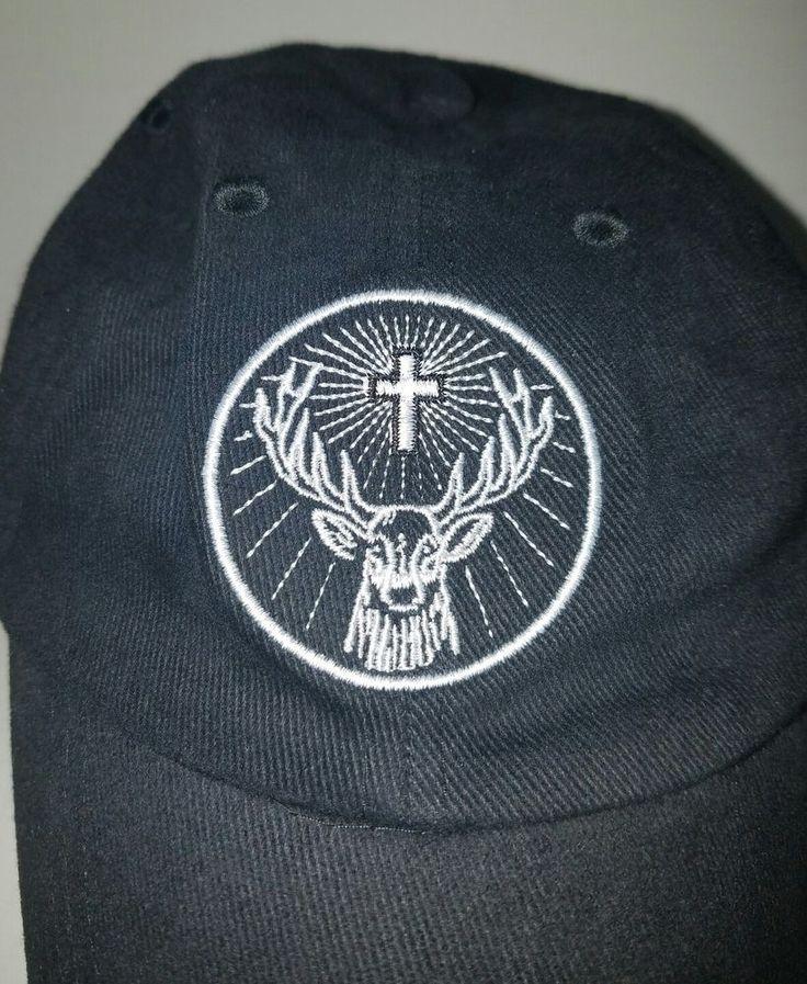 "Jagermeister Flex Fit Hat Jager Stag Logo ""SHOTS HAPPEN"" M-L size Promotional  | Collectibles, Advertising, Food & Beverage | eBay!"
