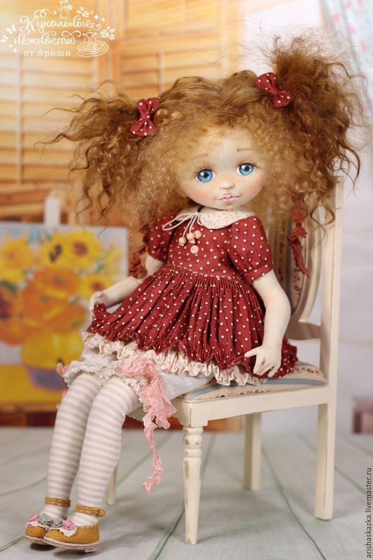 Купить Наташка . Кукла авторская - кукла ручной работы, кукла, кукла в подарок, кукла текстильная