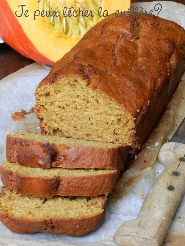 Le {Miam}-Cake au potimarron et à la cannelle