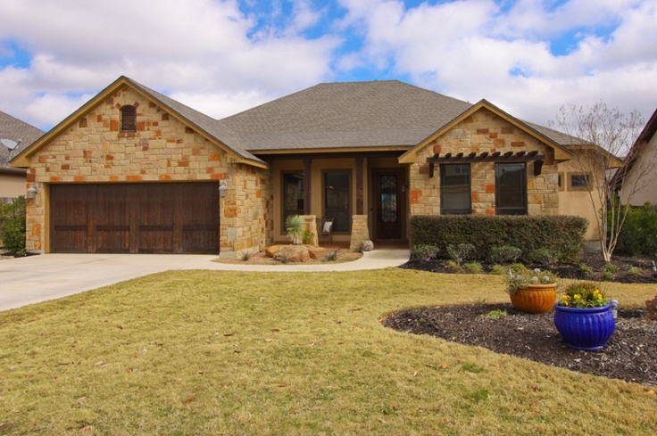 1000 images about elevations on pinterest ranch for Texas hill country houses for sale
