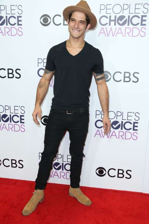 2017 People's Choice Awards: Tyler Posey attends the People's Choice Awards at the Microsoft Theater in Los Angeles on Jan. 18, 2017.
