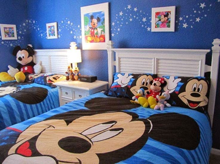8 best habitacin mickey mouse images on Pinterest Bedroom ideas