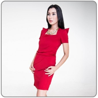 Estimate Dress Red