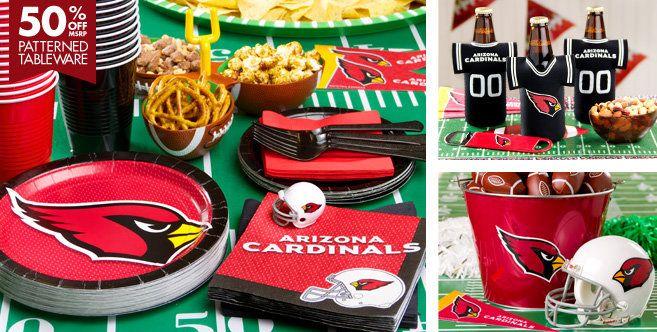NFL Arizona Cardinals Party Supplies - Party City