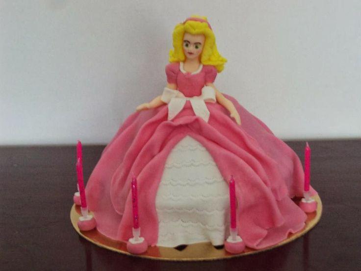 Bolo Princesa - Aniversário de menina