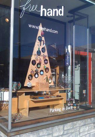 DIY wooden christmas tree idea