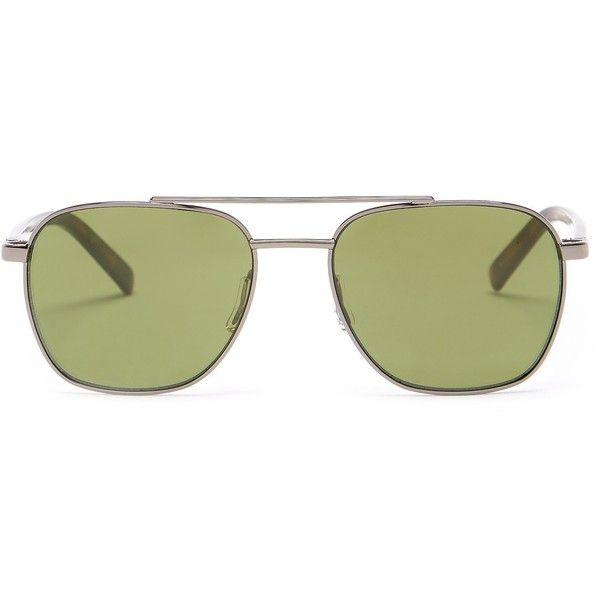 Harley Davidson Women's Metal Sunglasses ($30) ❤ liked on Polyvore featuring accessories, eyewear, sunglasses, green glasses, green sunglasses, uv protection glasses, green lens glasses and harley davidson sunglasses