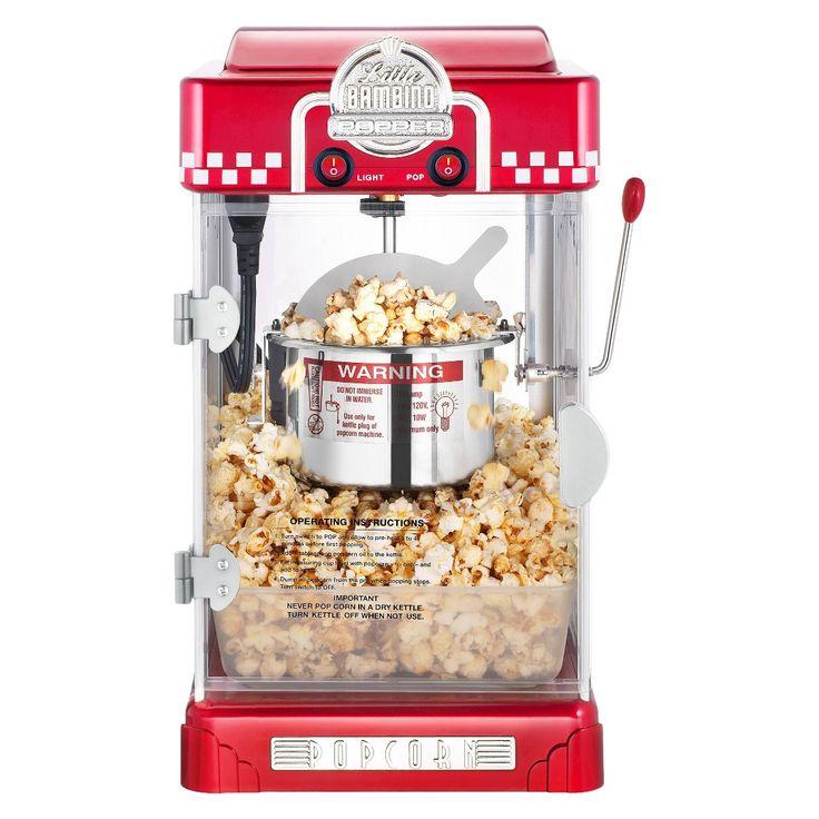 Great Northern Popcorn�s Little Bambino 2-1/2 Ounce Retro Style Popcorn Popper Machine